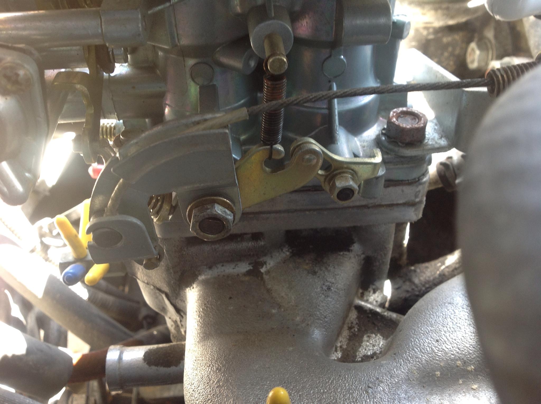 Weber 32/36 DGEV Throttle Return Spring – super-crush